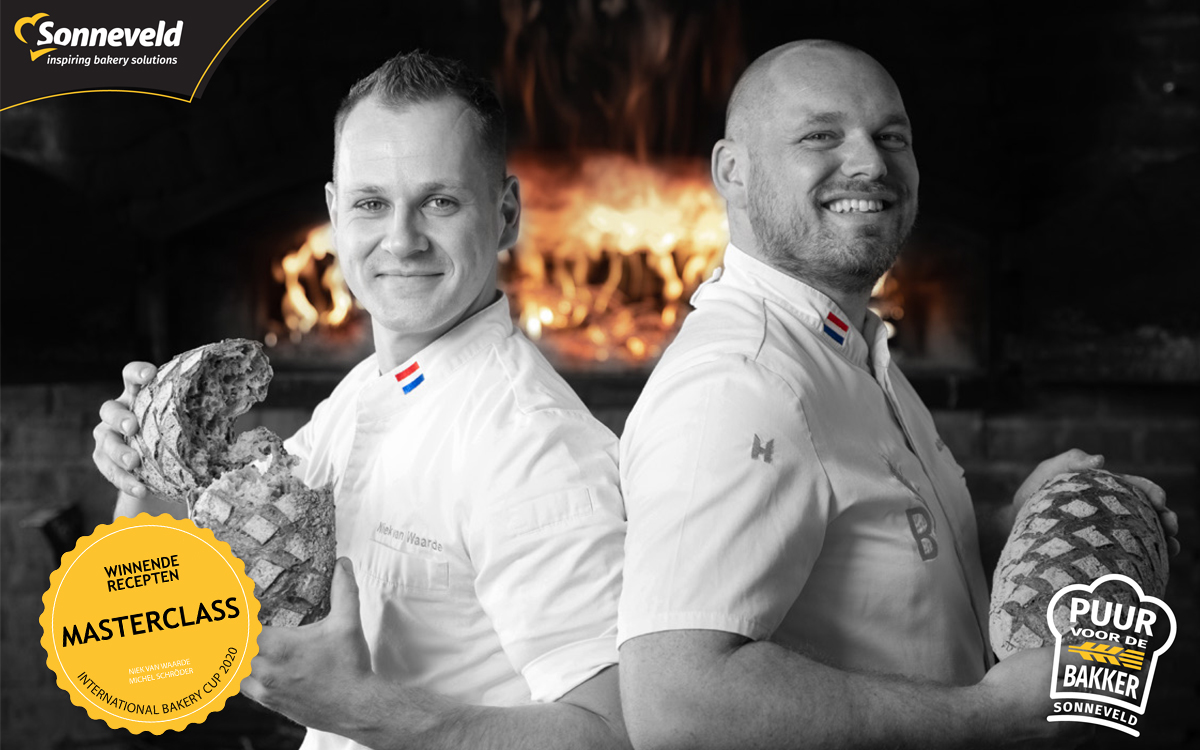 Niek en Michel organiseren de Masterclass International Bakery Cup